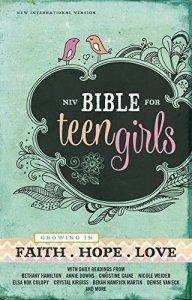 NIV Bibles for Teen Girls Bible