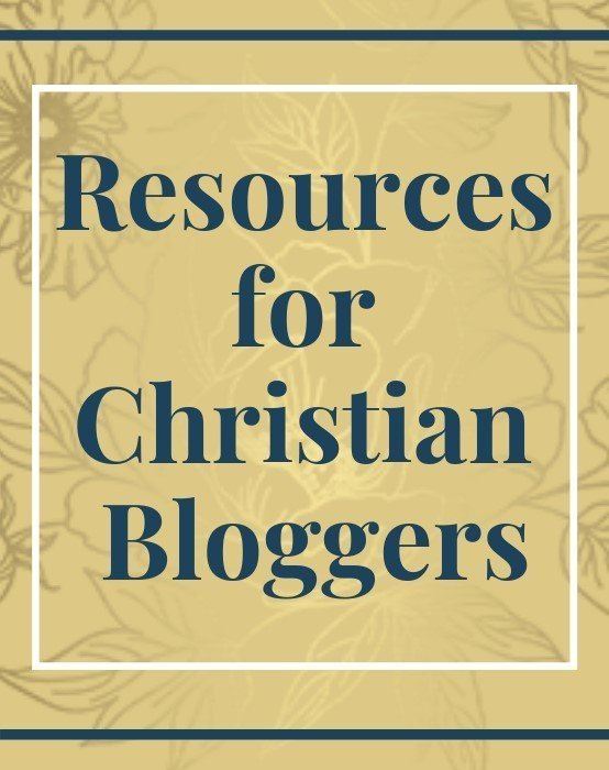 Resources for Christian Bloggers
