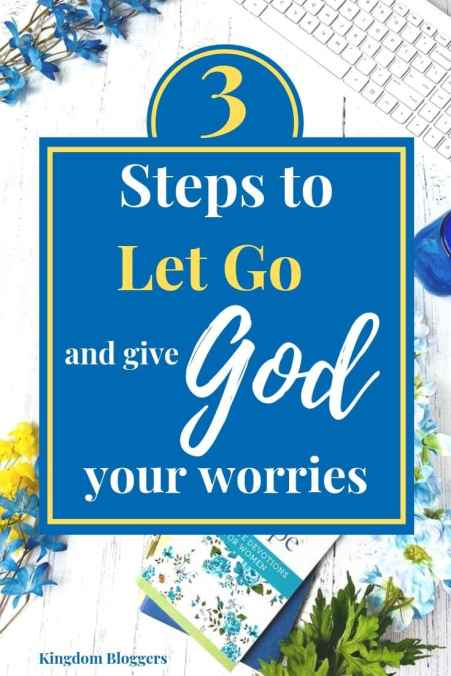 Giving Your Worries to God