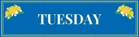 Tuesday blog link parties