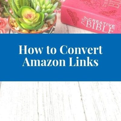 4 Reasons Your Amazon Links Aren't Converting as a Christian Blogger