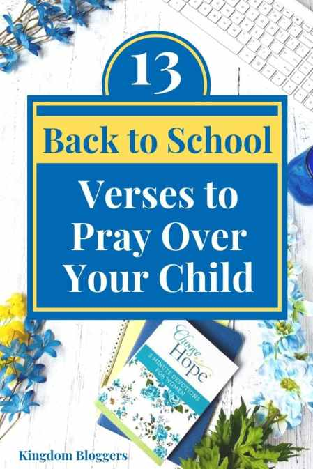 Back to School Verses