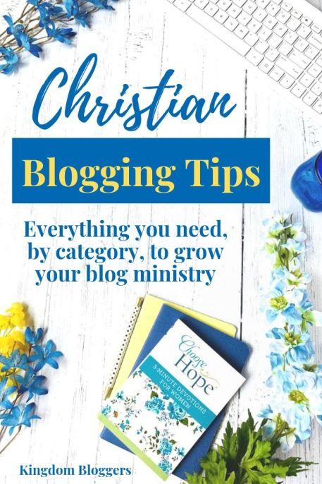 Christian blogging resources