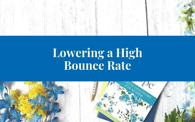 lowering your high bounce rate