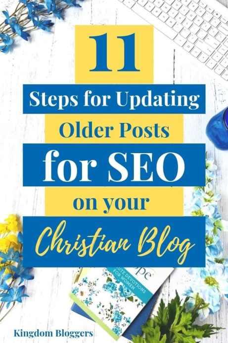 updating older posts for SEO