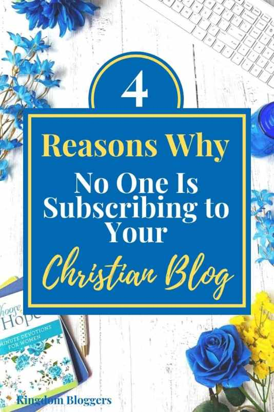 getting people to subscribe to your blog