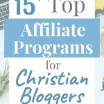 affiliate programs for christian bloggers