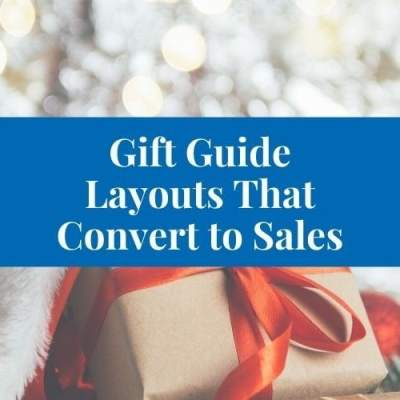 How to Create a Holiday Gift Guide that Actually Convert to Sales