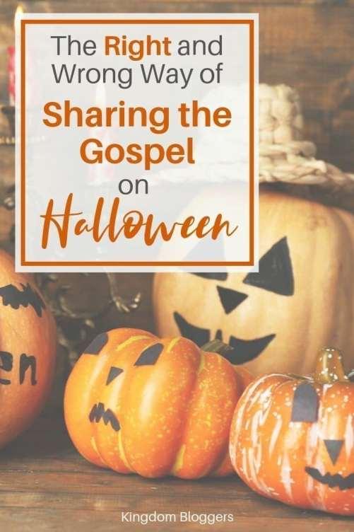 sharing the gospel on halloween