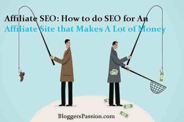affiliate website seo tips