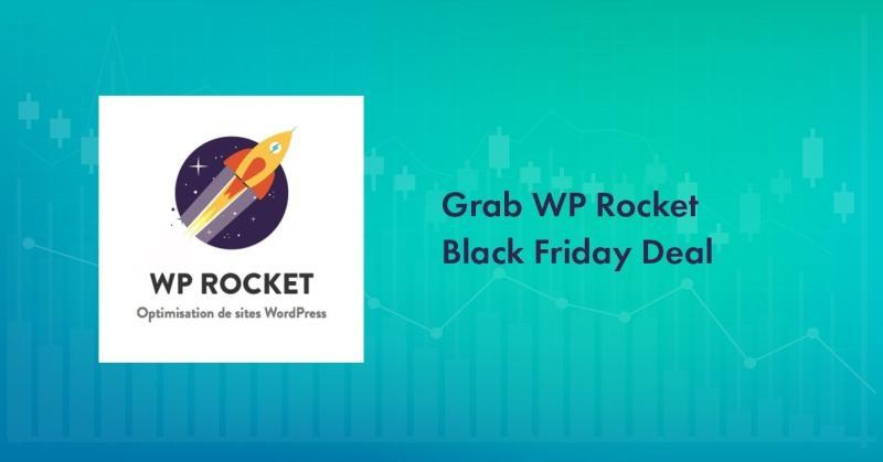WP Rocket Black Friday 2020 Deal