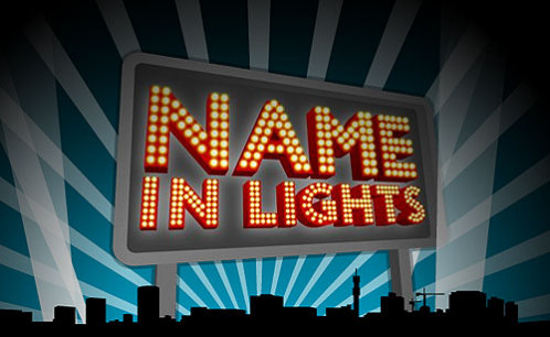 Name In Lights
