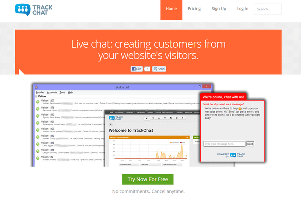 live chat website list
