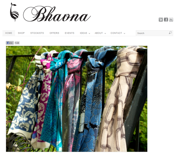 Blogger outreach assignment: Promote an ethically produced luxury brand of scarves and kaftans