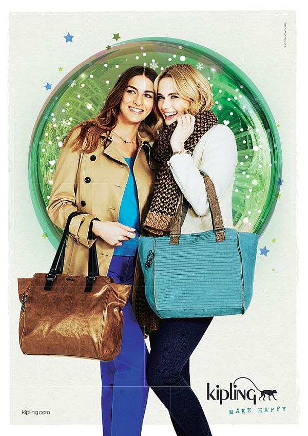 Blogging assignment: European fashion & beauty bloggers wanted to review Kipling bags and become mid-term ambassadors #SheWearsKipling