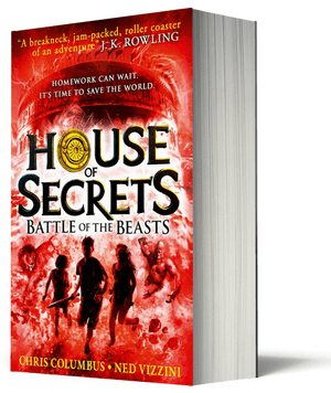 Blogging assignment: House of Secrets Book 2 - Battle of the Beasts - Book Review (UK bloggers)