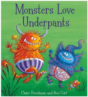 Blogging assignment: Reviews wanted for Monsters Love Underpants (UK bloggers)