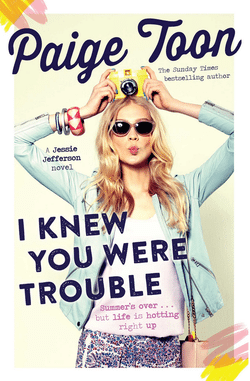 Blogging assignment: YA Book Review - I Knew You Were Trouble