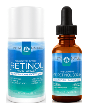 Blogging assignment: Retinol Serum & Retinol Moisturizer Reviews (UK bloggers)