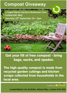 Blogging assignment: Free EcoPark Compost Giveaway 19th September (Bloggers form Enfield and surrounding areas wanted)