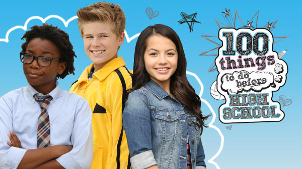 Blogging assignment: Nickelodeon - 100 Thing To Do Before High School - Review (UK bloggers)
