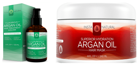 Blogging assignment: Argan Oil Hair Mask + Treatment Elixir Reviews (UK bloggers)