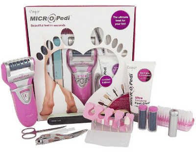 Blogging assignment: Looking for UK bloggers who would like to review MICRO Pedi, an electric foot hard skin remover
