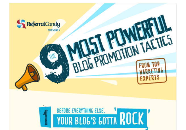 The best approach to blog promotion (infographic)