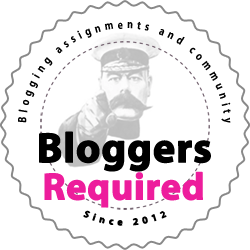 Bloggers Required Community Member Badge