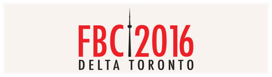 FBC2016 - Food Bloggers of Canada Conference