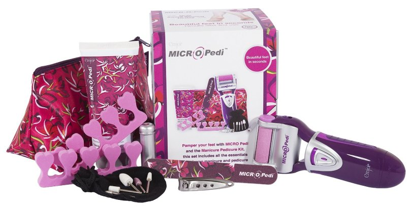 Blogging assignment: Looking for UK bloggers who would like to review Emjoi MICRO Pedi Gift Set with Manicure and Pedicure Kit