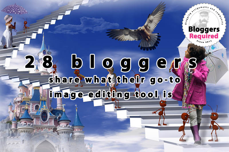 28 bloggers share what their go-to image editing tool is