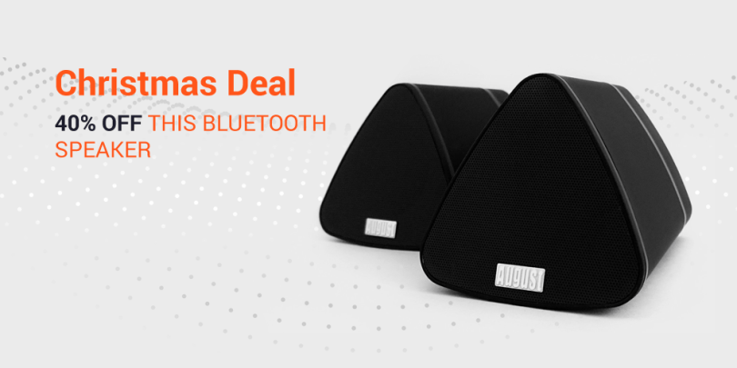 Blogging assignment: Bluetooth Speaker - Discount Code Promotion (Worldwide bloggers)