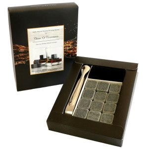 Blogging assignment: USA based bloggers to review Granite Whiskey Stones, reusable granite cubes that lightly chill your straight spirit drink, unlocking flavours and aroma's without diluting like melting ice will.