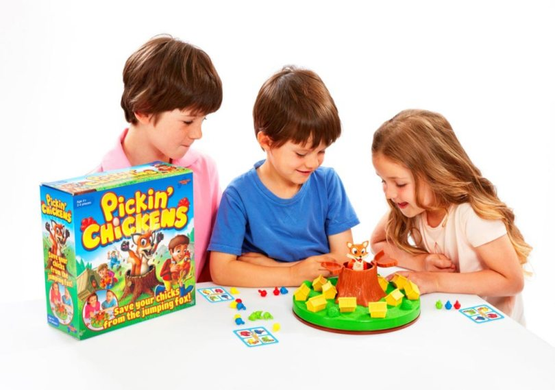 UK Giveaway: Win Pickin' Chickens Game from Drumond Park