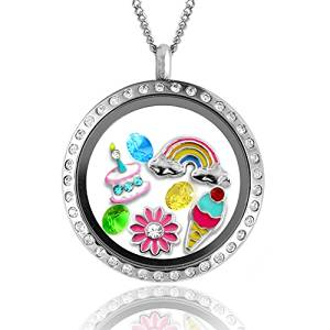 UK Giveaway: Win a 'Happy Birthday' Floating Charms Locket - Closes 10/31/2016