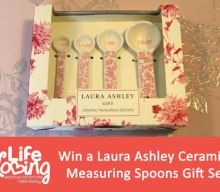 UK Giveaway: Win a Laura Ashley Ceramic Measuring Spoon Gift Set – Closes 02/28/2017