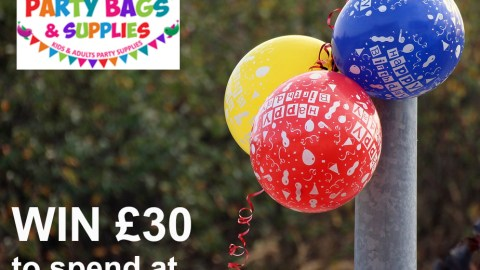 UK Giveaway: WIN £30 to spend at Party Bags and Supplies – Closes 03/08/2017