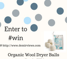 US Giveaway: Win a 6-pack of Organic Wool Dryer Balls – Closes 03/30/2017