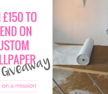 Blogger @mumsmissions UK Giveaway: Win £150 to spend on personalised custom printed wallpaper – Closes 07/07/2017