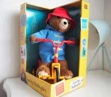 Blogger @twinderelmo UK Giveaway: Win a Cycling Paddington Bear toy RRP £29.99 – Closes 08/20/2017