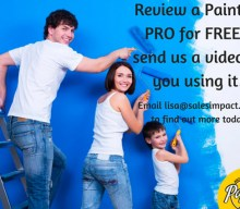 Worldwide blogging assignment: Review a Paint2It PRO – Closes 12th Oct 2017