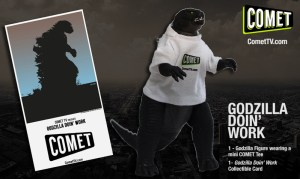 Blogger @mikethefanboy USA Giveaway: Win A Comet TV Godzilla Prize Pack - Closes 10/13/2017 | Bloggers Required, influencer & blogging community