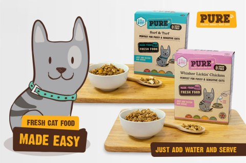 Blogging assignment: **Introducing Pure freeze dried cat food** UK bloggers with cats who would like to trial our brand new range of Cat foods to review. Closes 16th Dec 2017