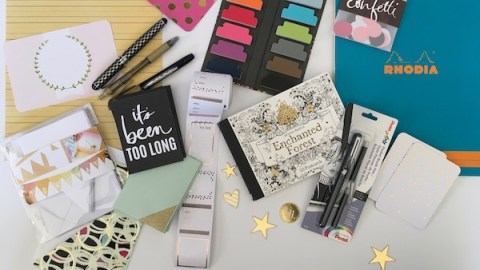 Blogging assignment: Stationery and Lettering Subscription Box (UK, US & Worldwide bloggers) Closes 19th March 2018