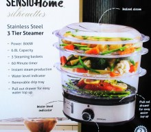 Blogger @lentlesslypurpl United Kingdom Giveaway: Sensio Home Stainless Steel 3-Tier Steamer – Closes 03/22/2018