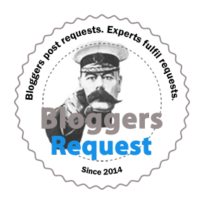 Bloggers post requests. Experts fulfil requests.