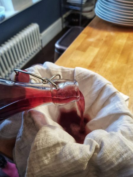 sloe gin recipe making homemade gin winter cocktail