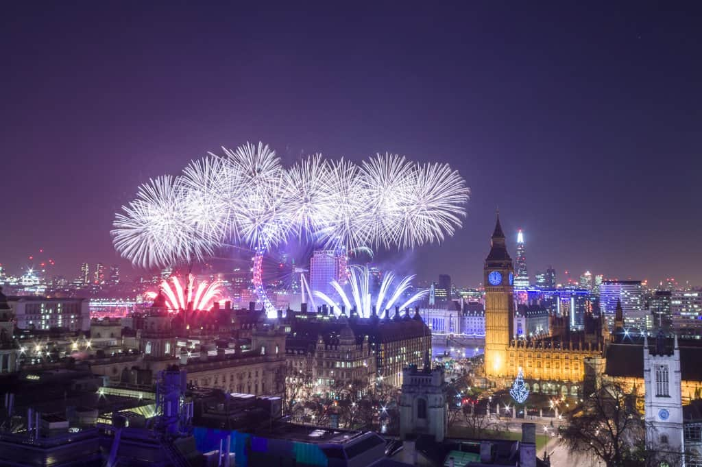NYE In London - The Best Place To See Fireworks In London On New Year's Eve - London fireworks new years eve AND places to watch new year fireworks london