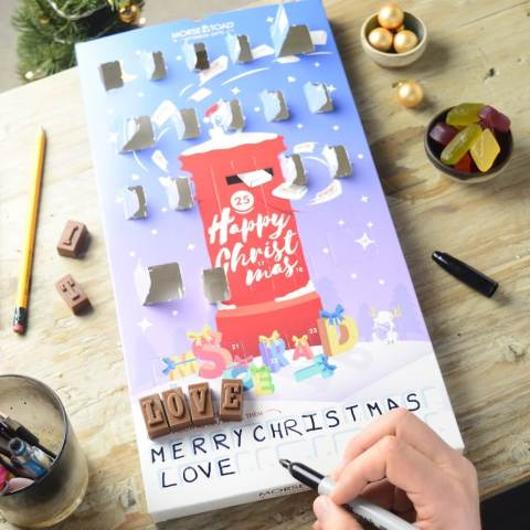 "UK blogging assignment: Help Review Our Brand New ""Secret Message"" Chocolate Advent Calendar. Closes 8th Nov 2019"